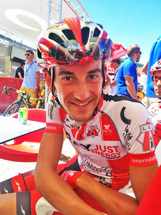 Vicente Garcia de Mateos, do Louletano Just Ray Energy, foi 4º
