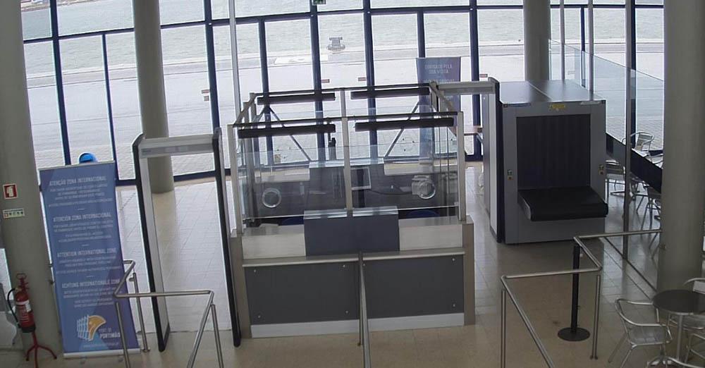 APS instala equipamentos de Raios-X no Porto de Portimão