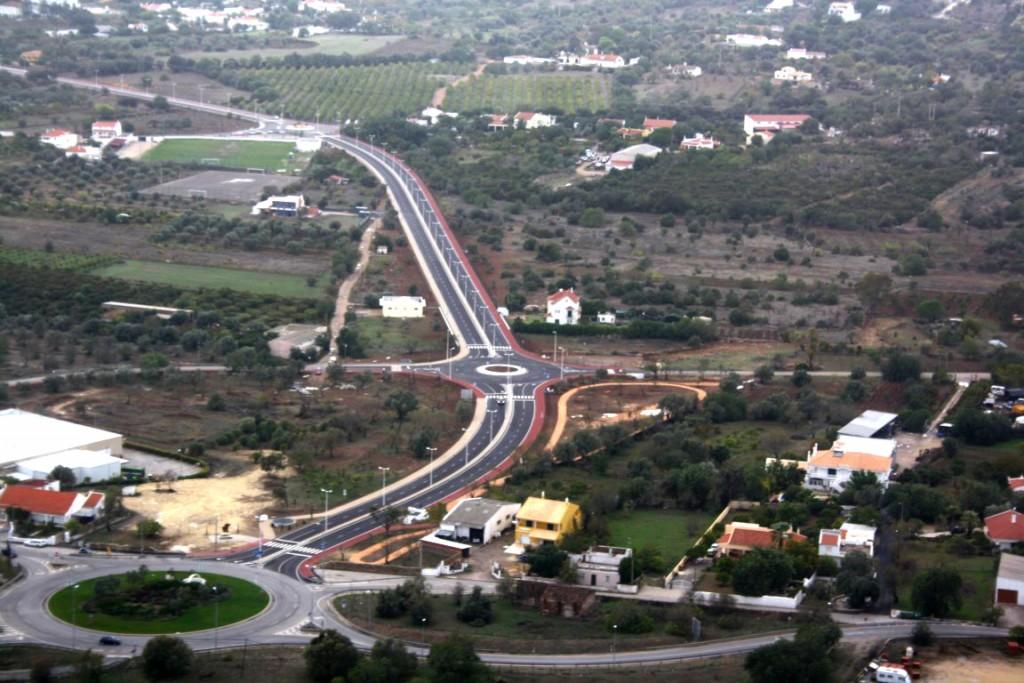 Vista aérea de São Brás de Alportel_Anel Circulação