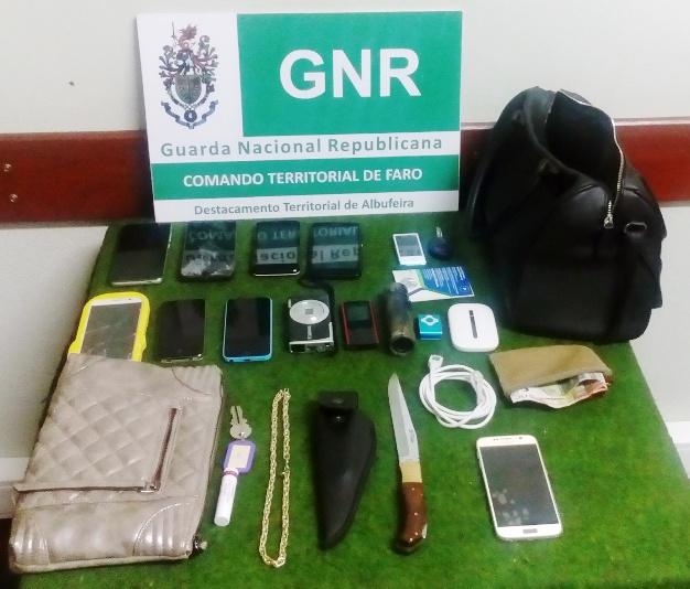GNR detém assaltantes Albufeira Out 2015