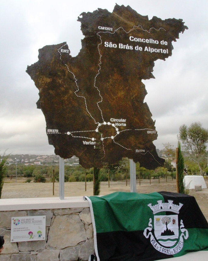 Monumento anel circulação são brás_peça