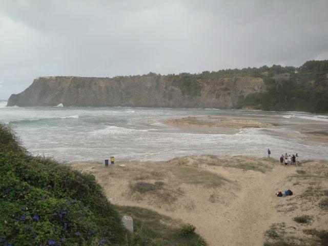 Praia de Odeceixe - ontem