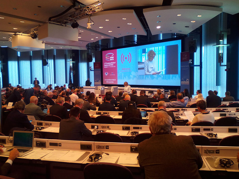 Sessão Abertura Open Days 2015 Bruxelas