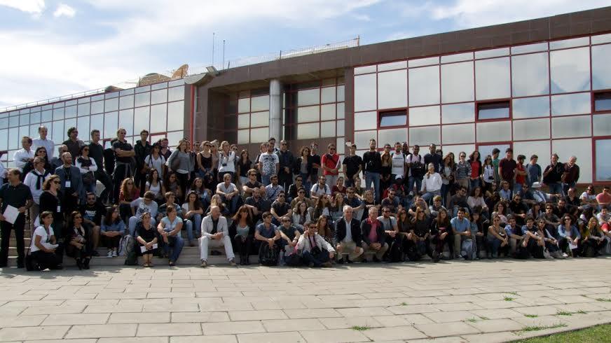 alunos de arquitetura