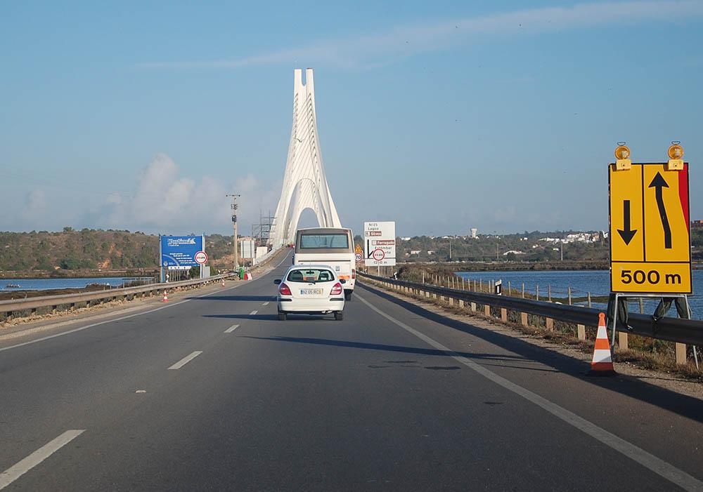 ponte nova do arade em obras 2