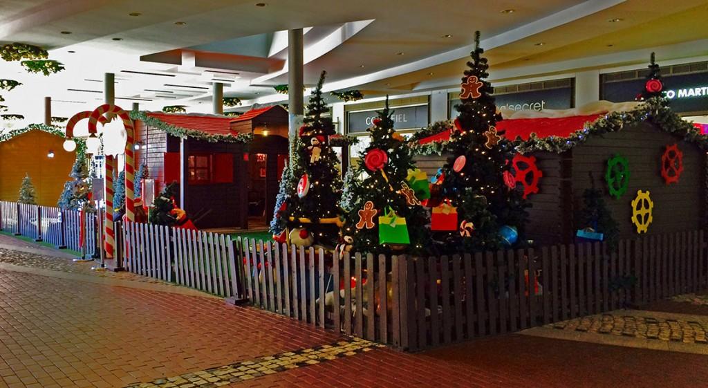 Aldeia Pai Natal Fórum Algarve