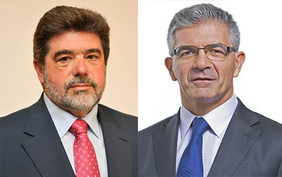 António Mendonça e Edgar Silva