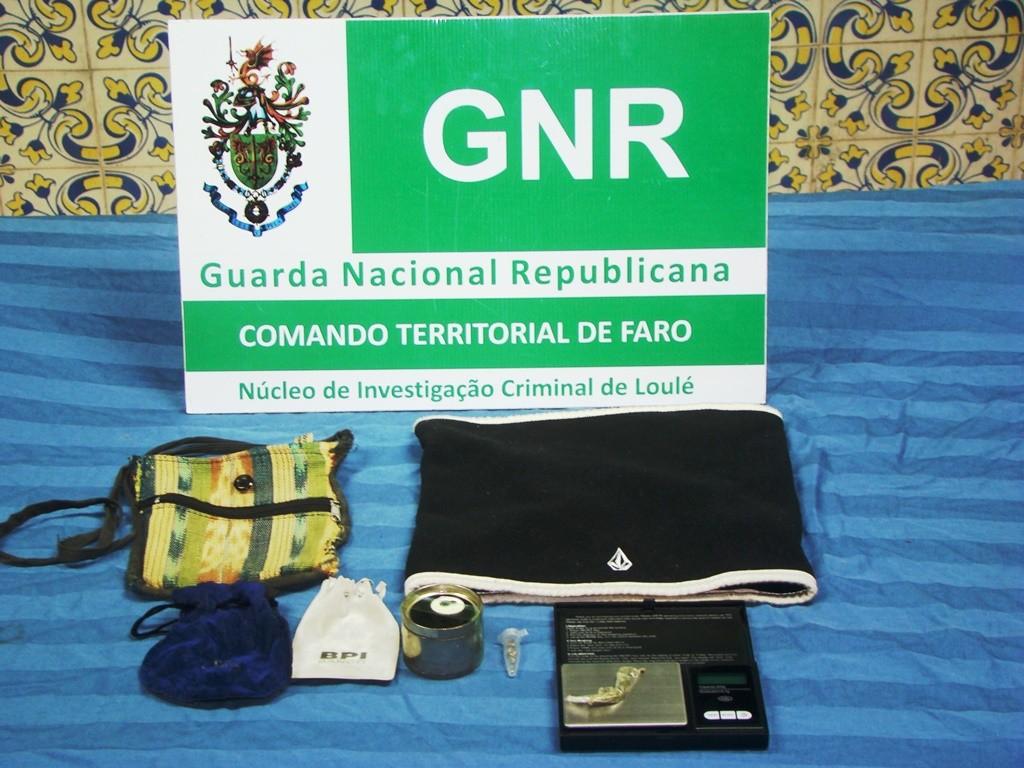 Apreensão material usado em furto NIC Loulé