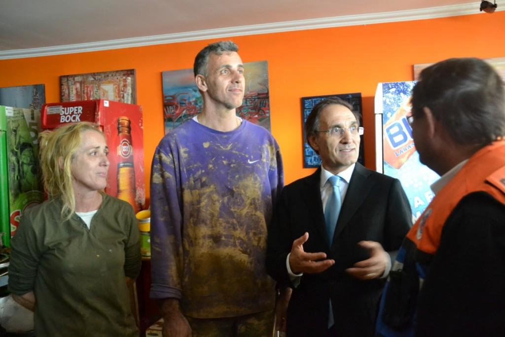 Ministro da Administração Interna visita Albufeira