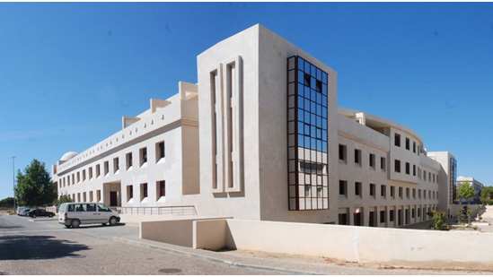 Edificio onde funciona o CCMAR na Universidade do Algarve