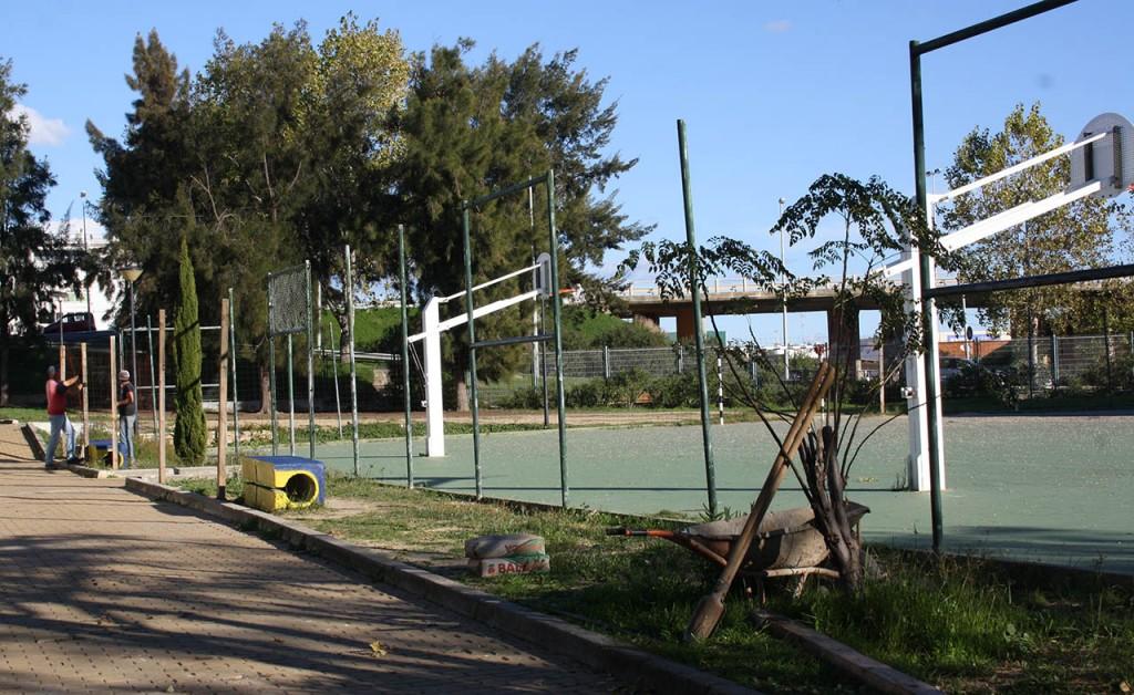 Início das obras no polidesportivo da João da Rosa