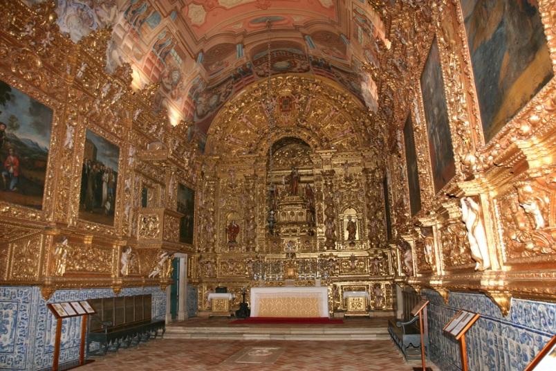 Museu Lagos_ talha dourada Igreja St. António