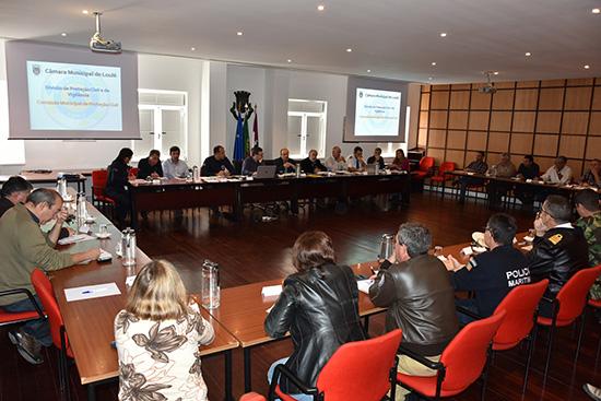 Reunião Prot Civil Loulé