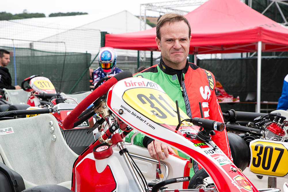 Rubens Barrichello Rotax