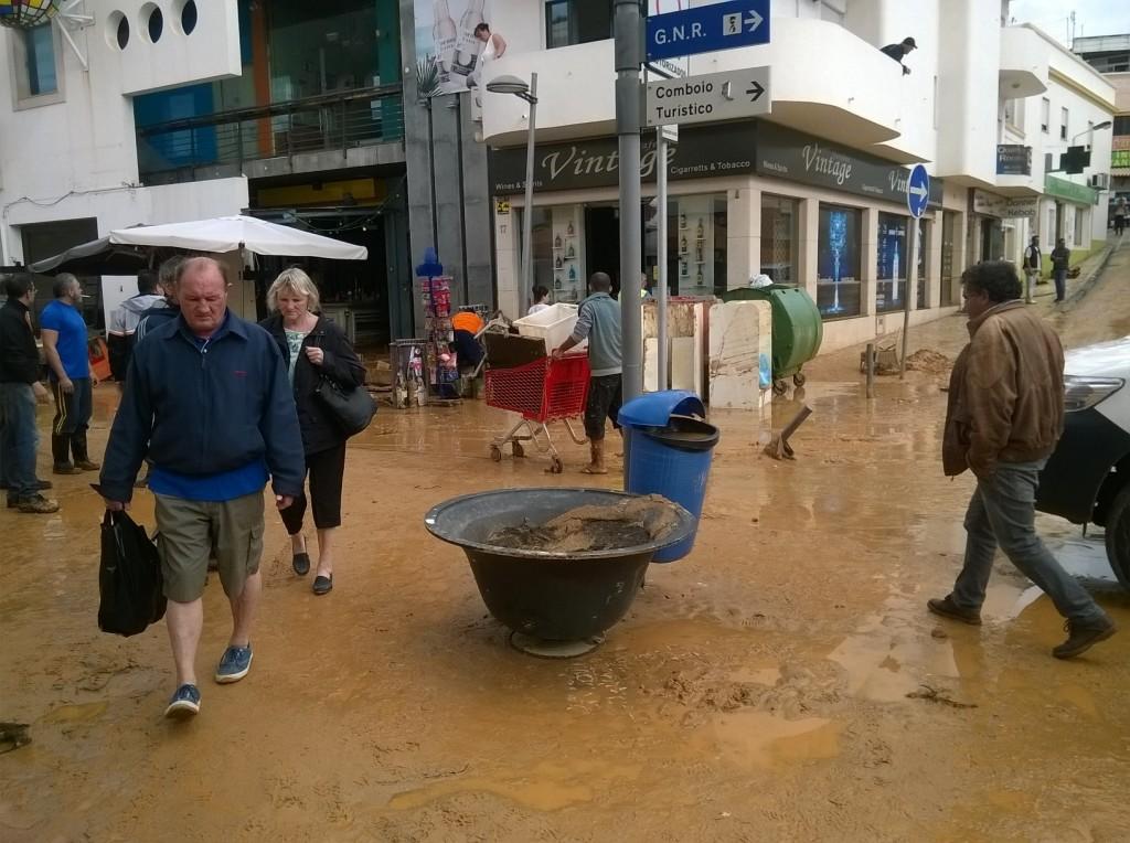 Inundações Albufeira