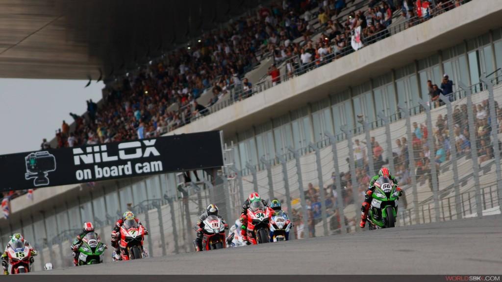 Corrida do Mundial de Superbikes na inauguração do Autódromo Internacional do Algarve