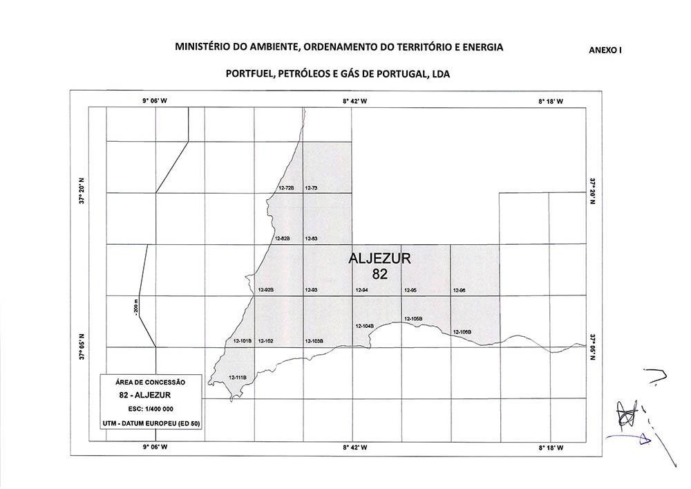 Concessão de hidrocarbonetos de Aljezur