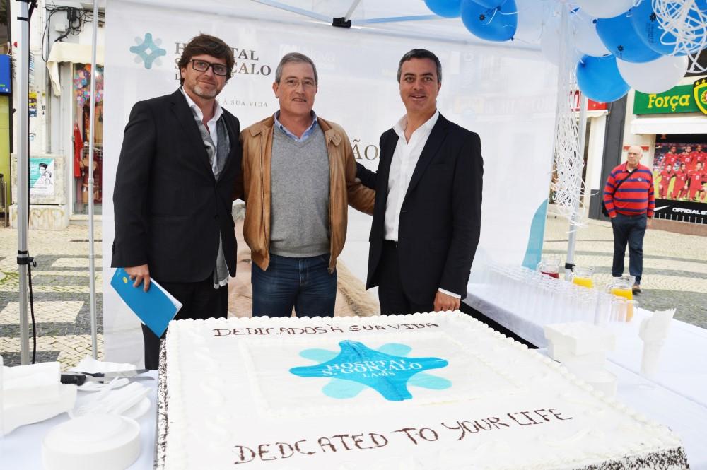 João Sampaio, José Coucello e Nuno Rebelo Alexandre