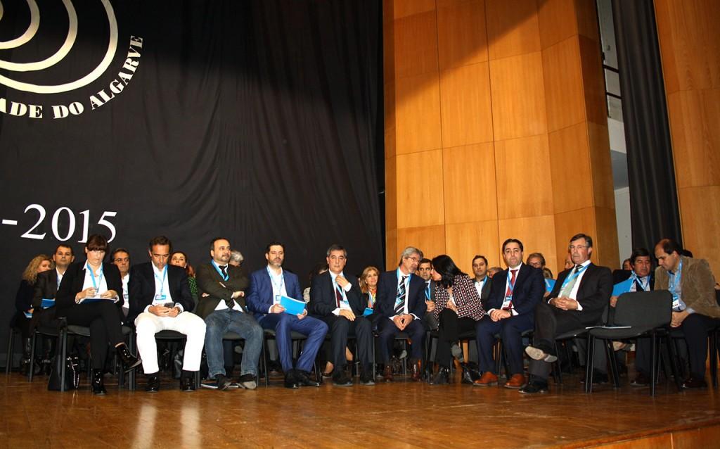 Empresários na sessão das bolsas de excelencia da UAlg 2015