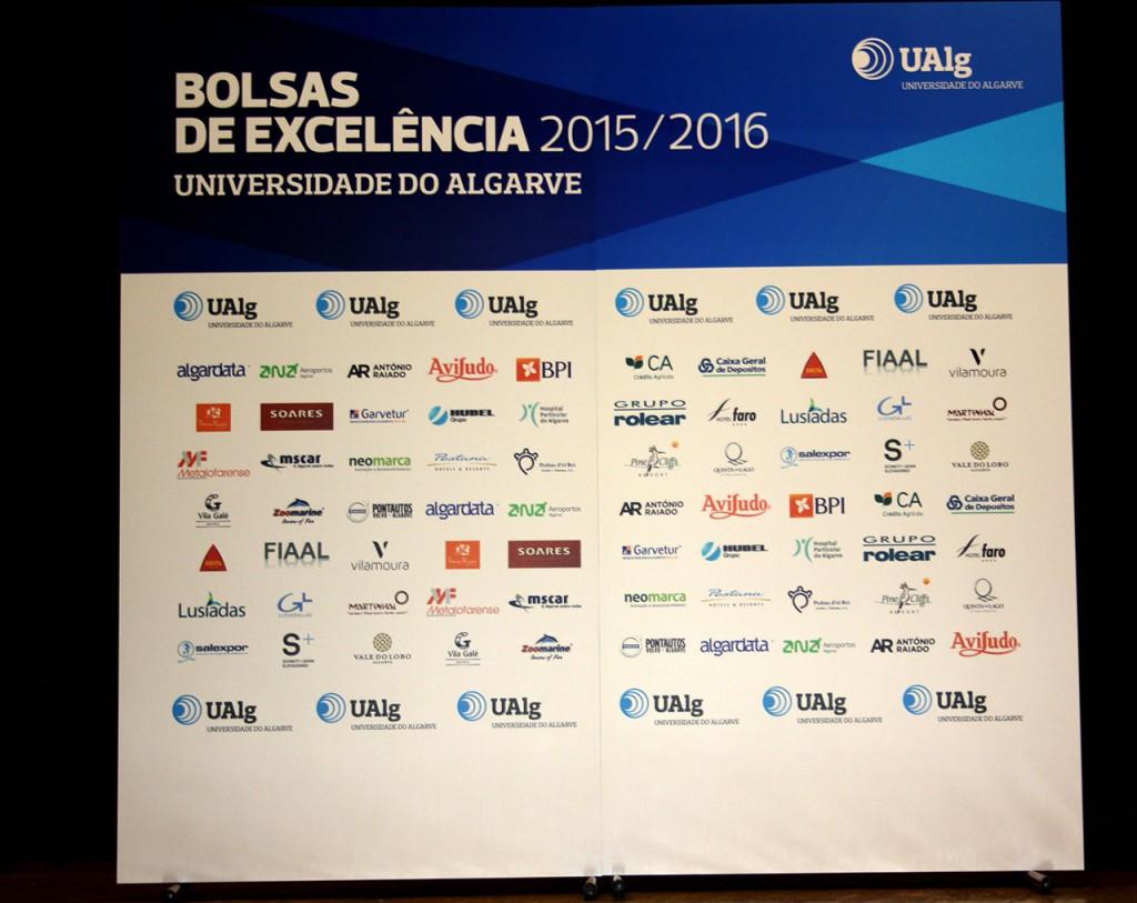 Empresas que atribuem as bolsas de excelência UAlg 2015