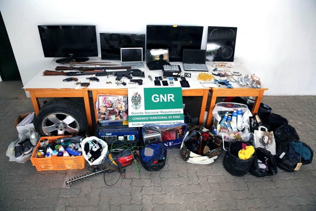 GNR deteve grupo que asslatava idosos no Algarve