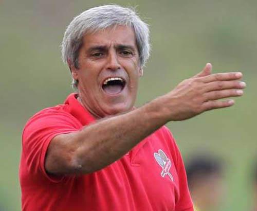 Horácio Gonçalves quando treinava o Leixões (foto Porto Canal)