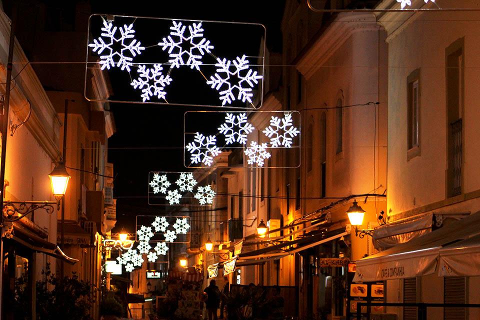 Iluminações de natal Silves 2015