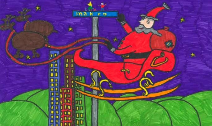 Makro_Concurso Infantil de Postais de Natal