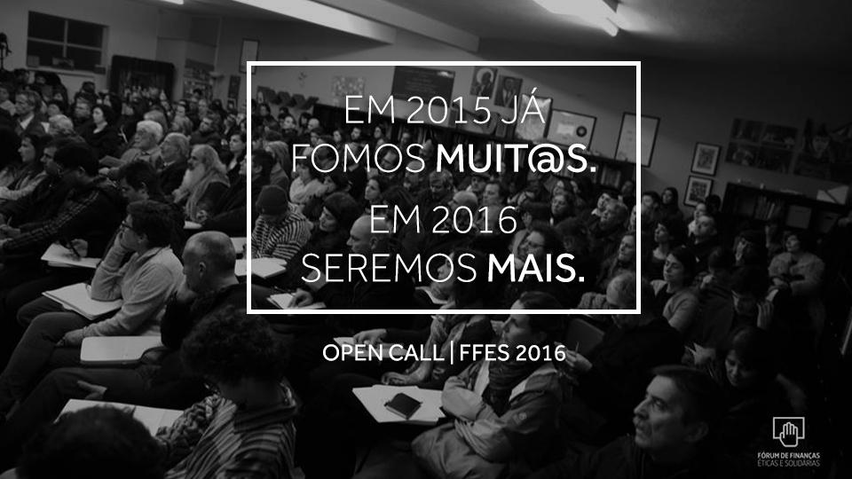 Open Call Fórum Finanças Éticas e Solidárias