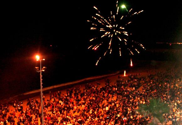 Passagem de ano Quarteira_Fogo Artificio