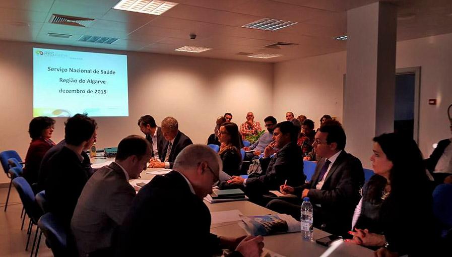 Reunião Comissão de Saúde Portimão