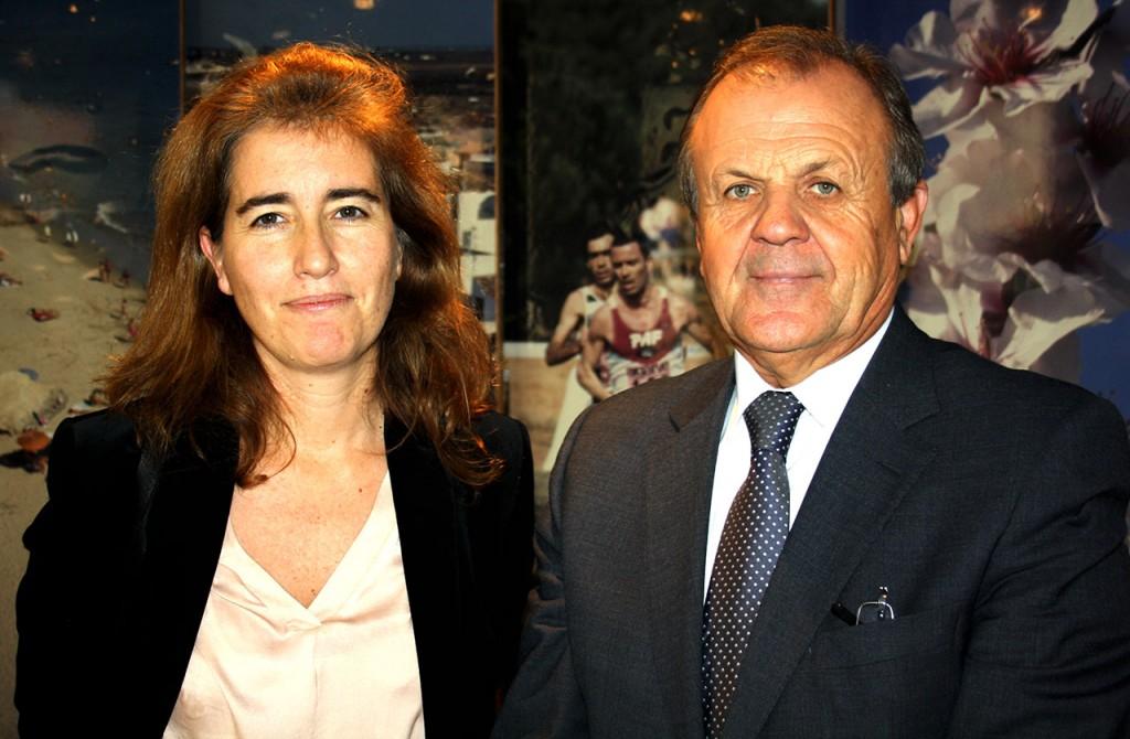 SE Ana Godinho e Desidério Silva