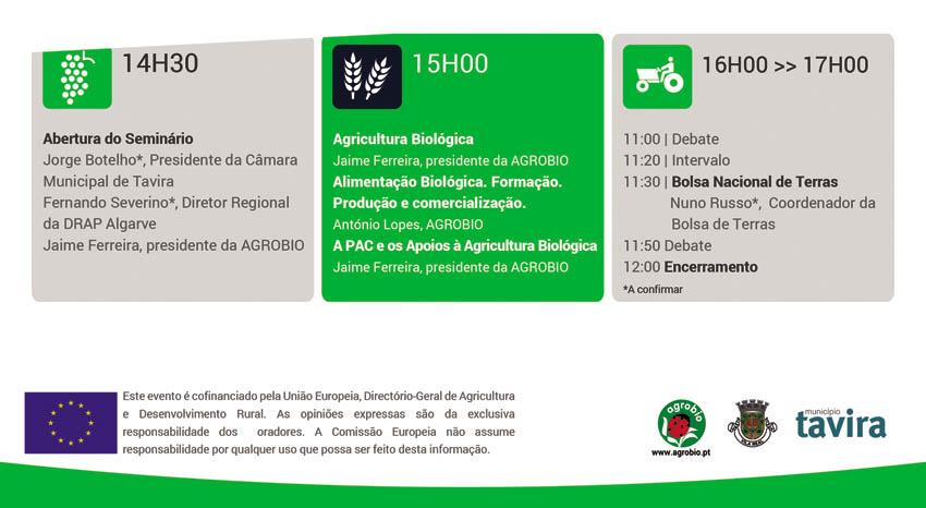 SEminário Tavira Programa