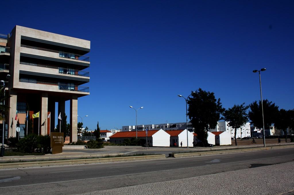 Zona destinada a novas unidades alojamento Olhão