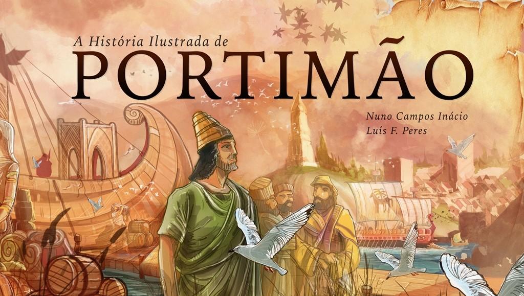 história ilustrada de portimão
