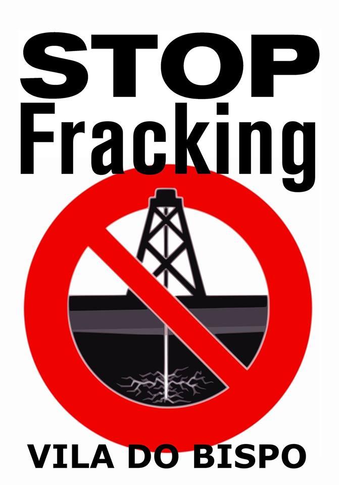 stop fracking vila do bispo