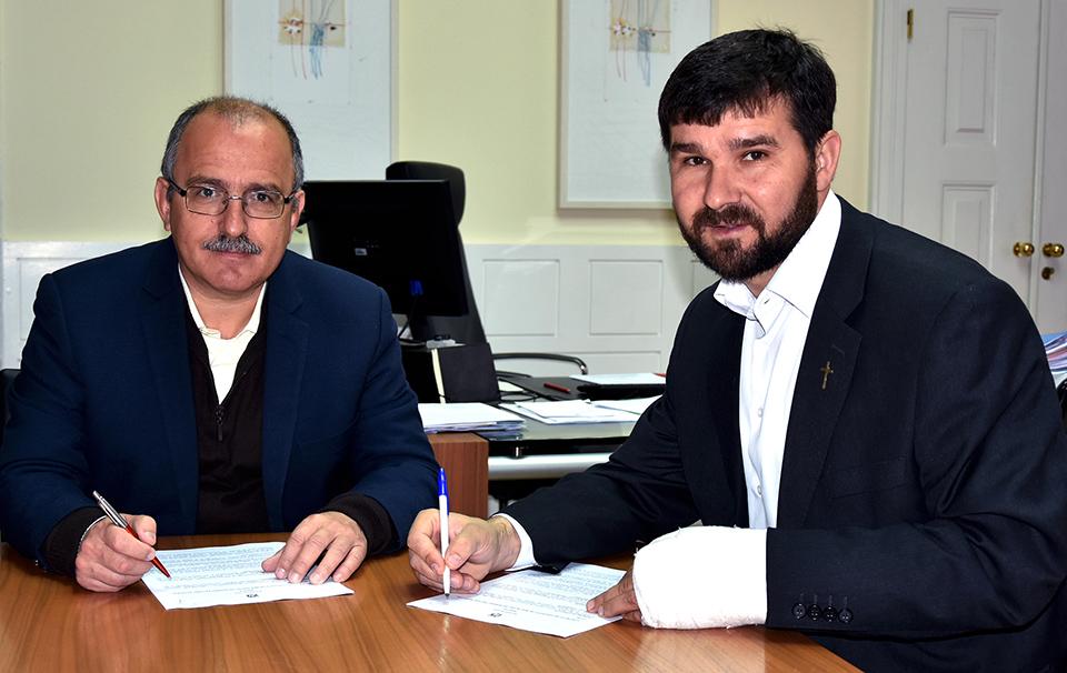 Assinatura de Protocolo - C.M.Loule - Mira