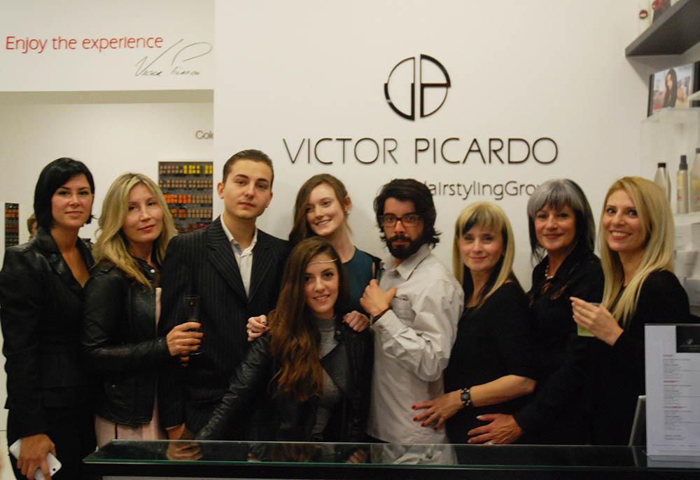 Equipa do Salão Victor Picardo Lagos