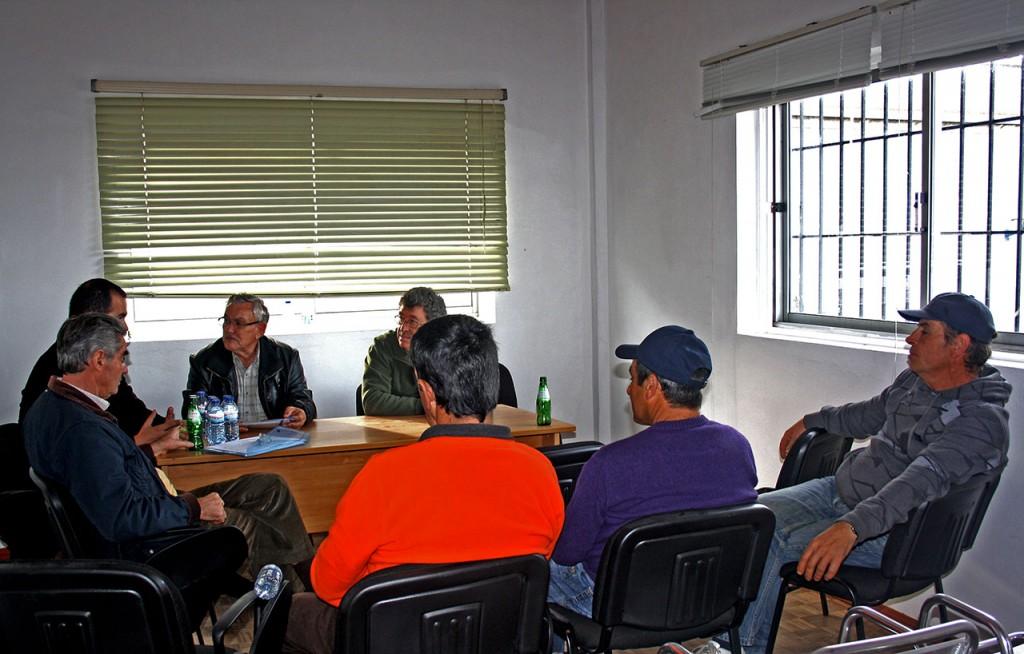 Reunião Aptav na Fuzeta