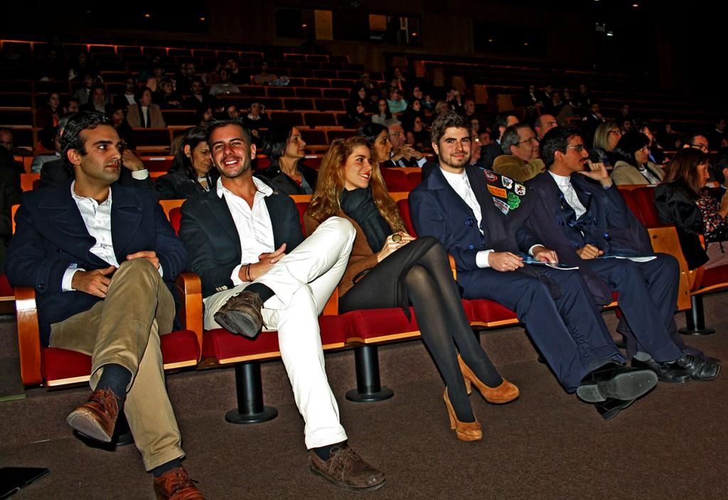 Rodrigo Teixeira com os seus antecessores