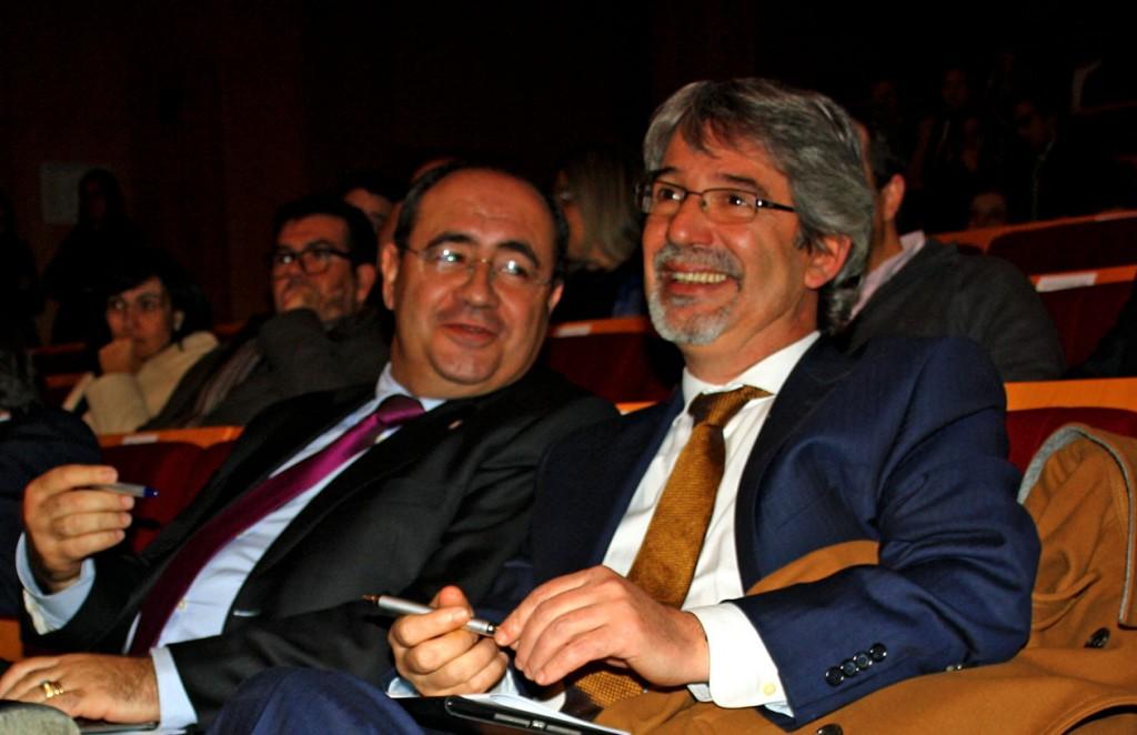 Rogério Bacalhau e António Branco