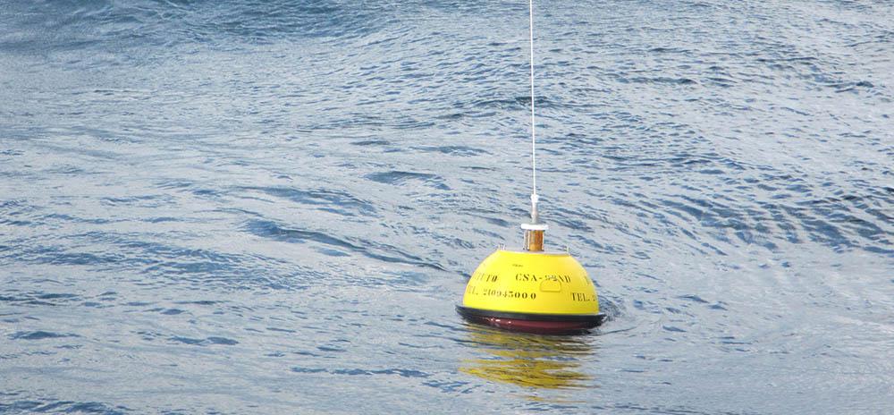 boia oceânica -ondógrafo