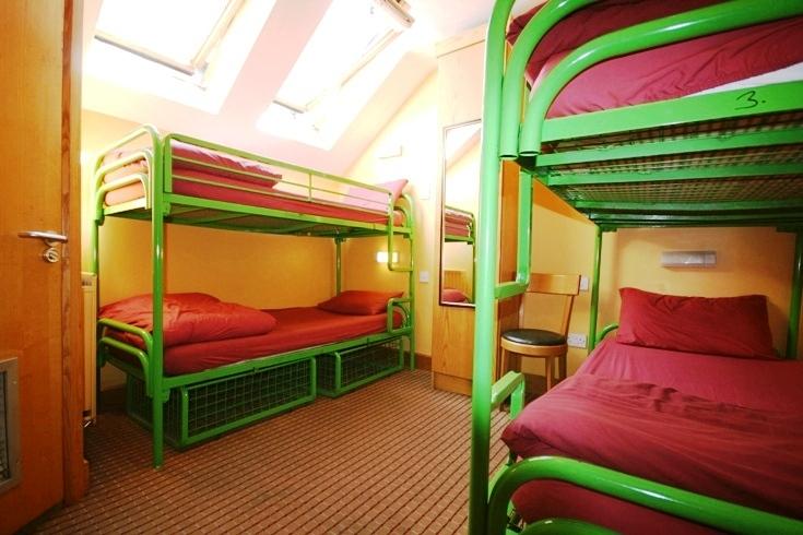hostel dormitorio