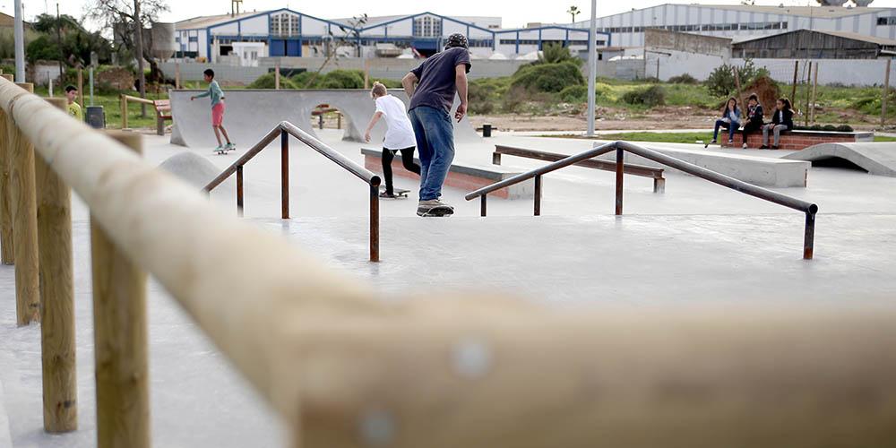 skate-park de Olhão