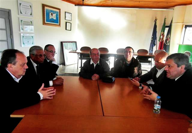 Ministro da Cultura, Dr  João Soares, em Aljezur  (2)