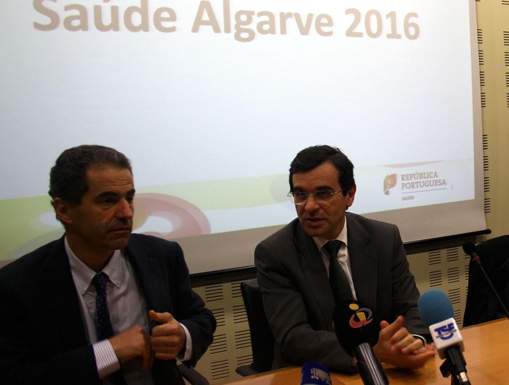 Adalberto campos Fernandes e Manuel Heitor em Faro