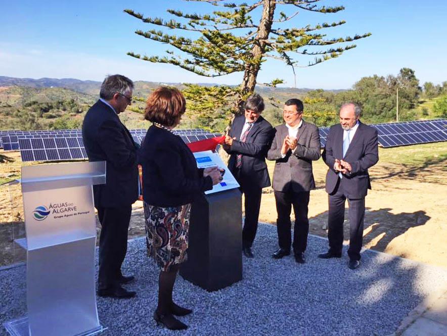 Central fotovoltaica na ETA de Tavira