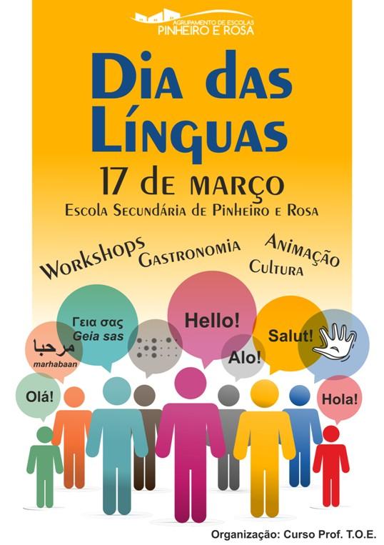 Dia_das_linguas Pinheiro e rosa_Cartaz