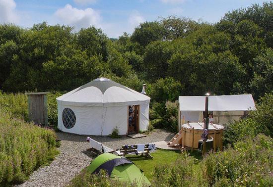 Glamping_Tenda Yurt