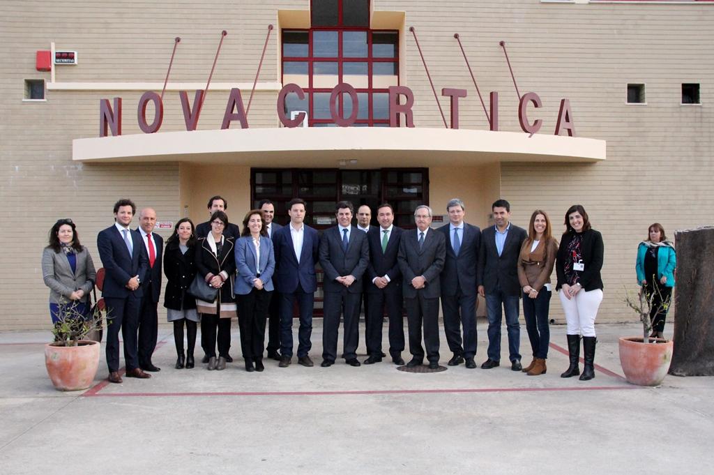 Visita MinistroEconomia a SaoBrasAlportel